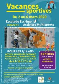 Flyer Sport Santé mars 2020 -  PDF - 326ko
