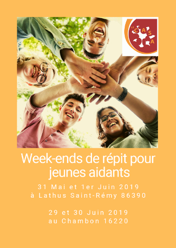 Le CASA Flyer Week-ends Jeunes Aidants  -  PDF - 683.3 ko