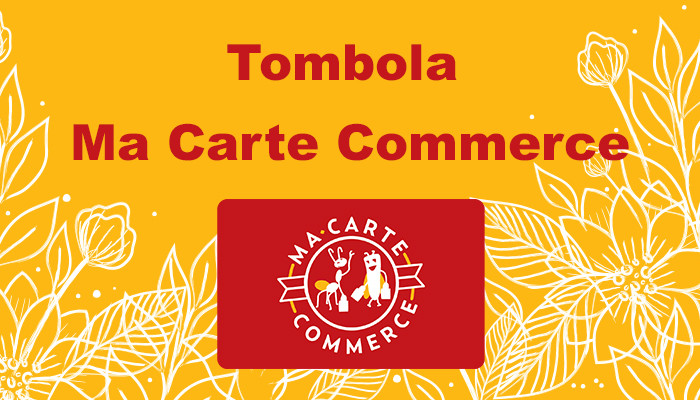 Tombola « Ma Carte Commerce »